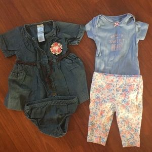 Newborn baby girl outfits